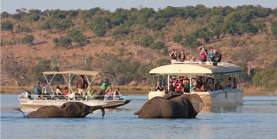Sunset Chobe River Cruise - Chobe river